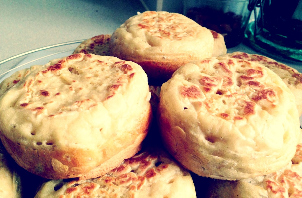 Crumpets – My Holy Grail
