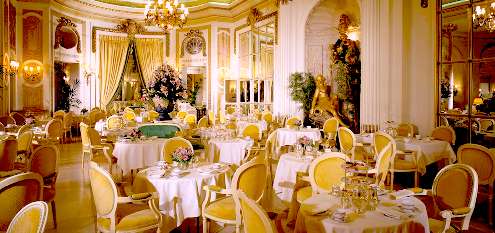 Afternoon tea and the Ritz